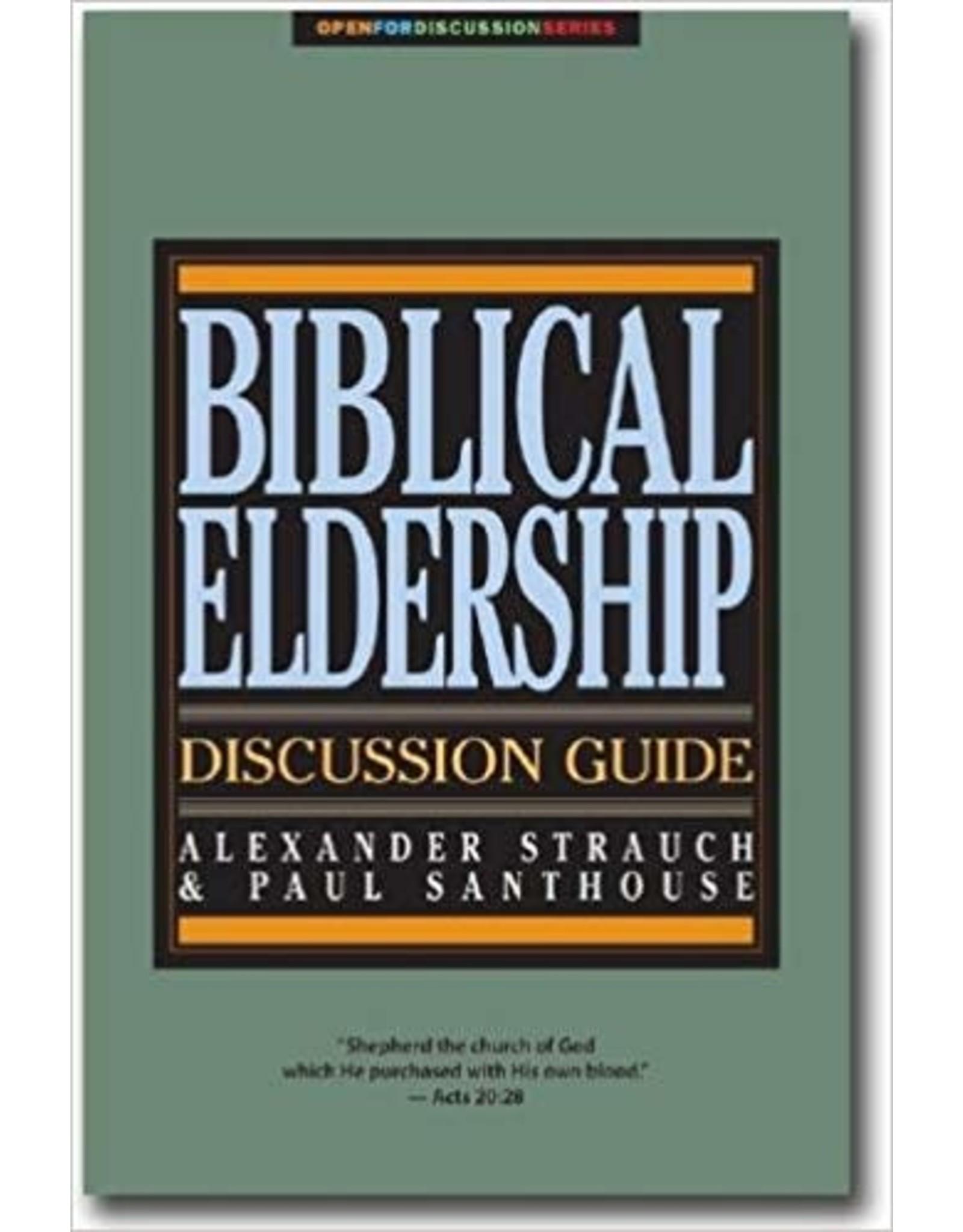 Strauch Biblical Eldership Discussion Guide
