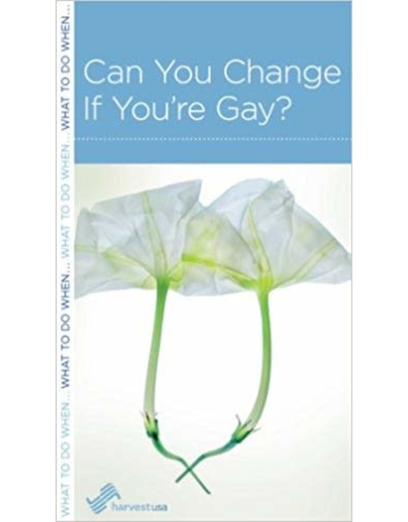 Harvest Can You Change If You're Gay?