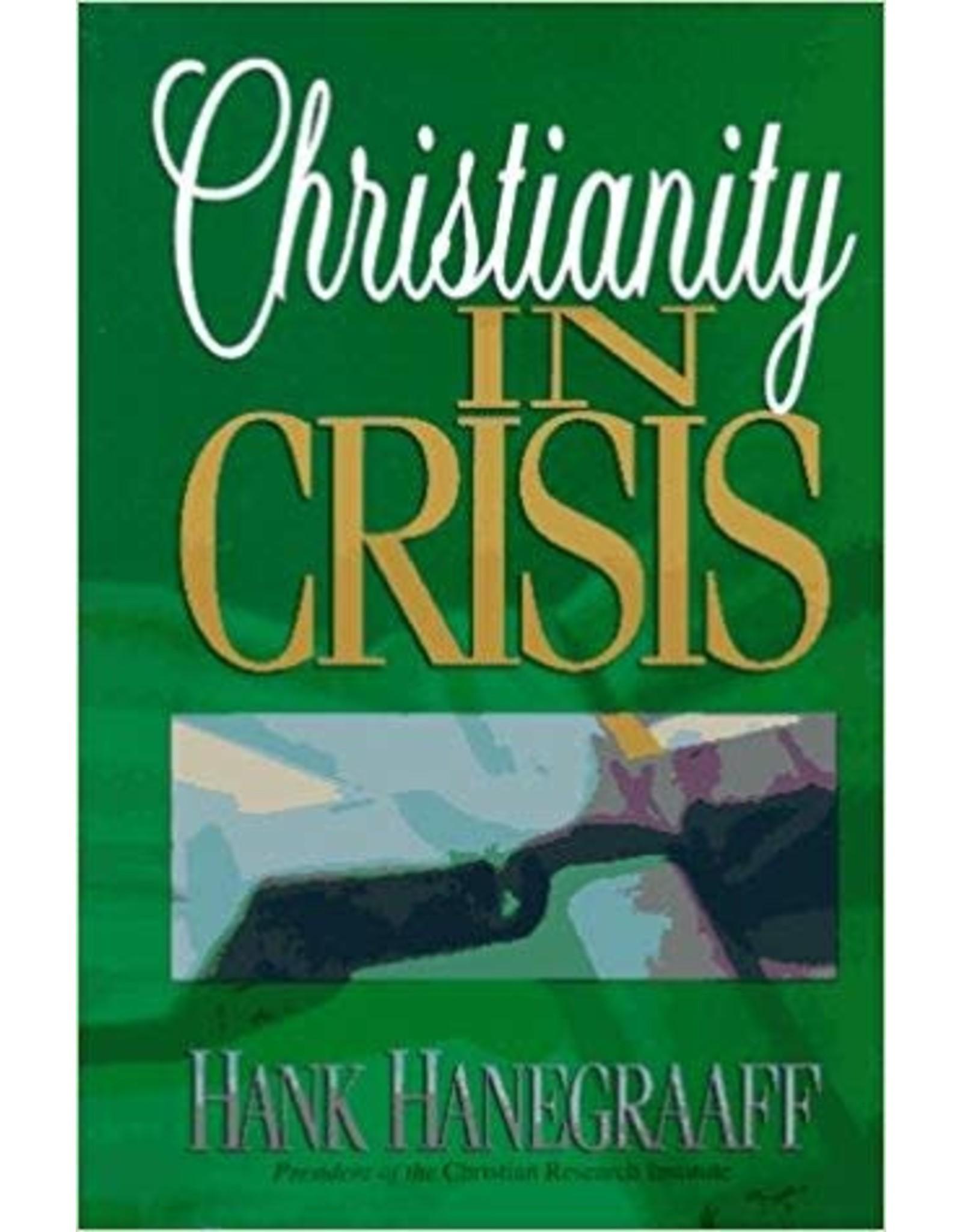 Hanegraaf Christianity in Crisis