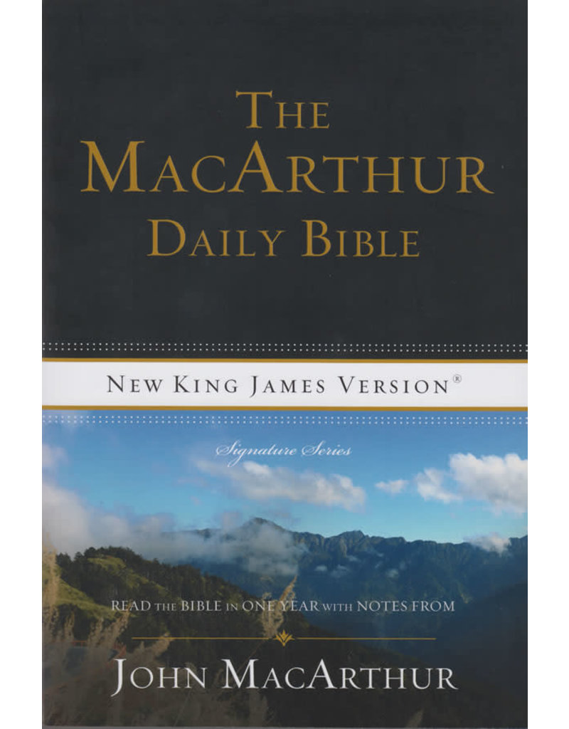 John MacArthur Daily Bible