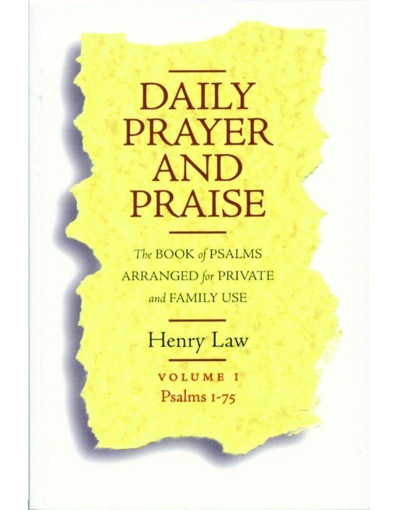 Law Daily Prayer and Praise, Vol 1