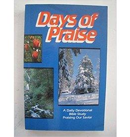 Morris Days of Praise