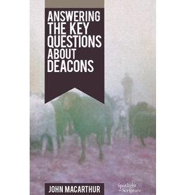 MacArthur Deacons: Answering key Questons