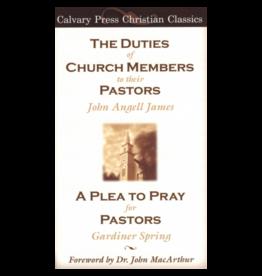 James Duties of Church Members to their Pastors, The