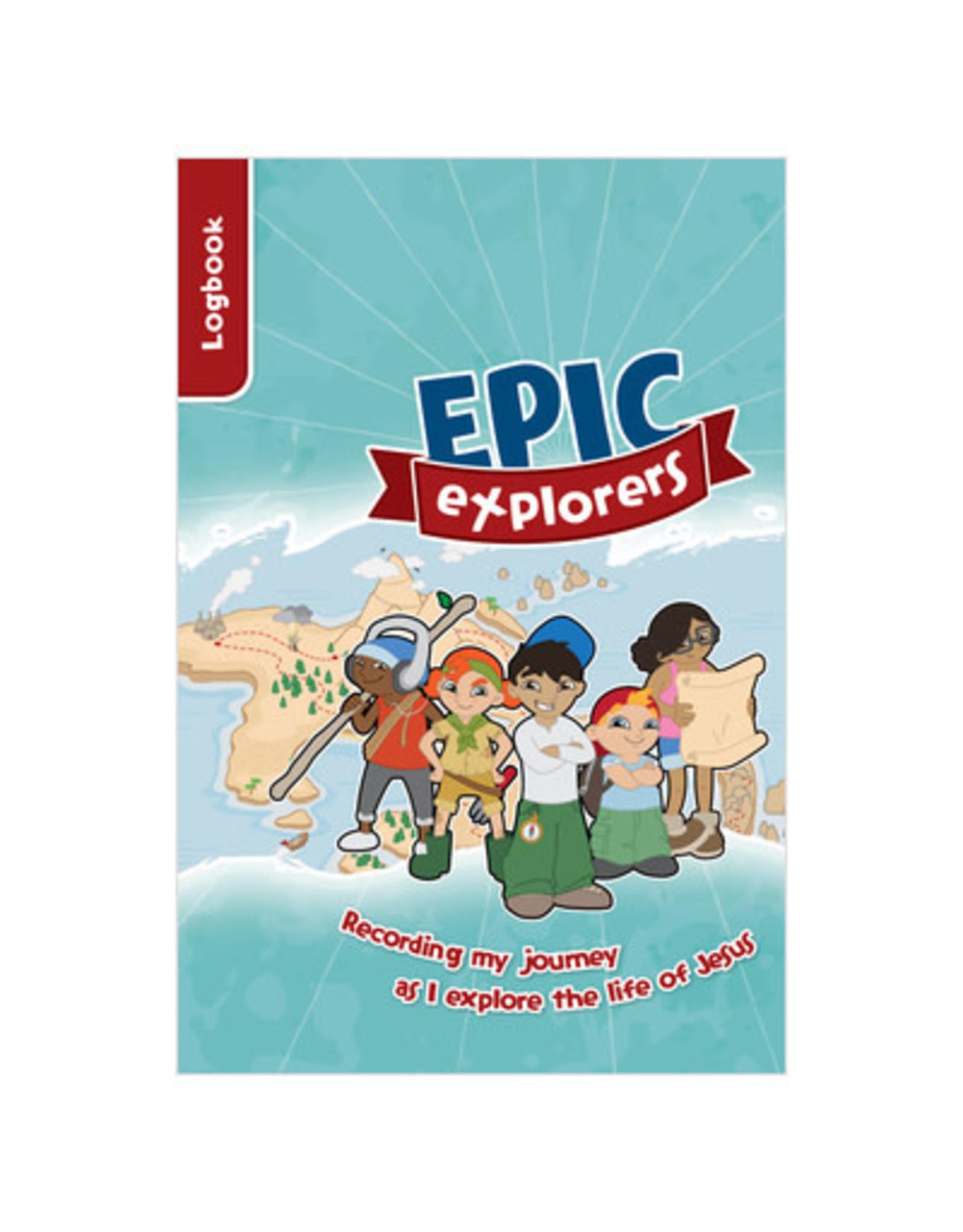 CE Ministries Epic Explorers Logbook