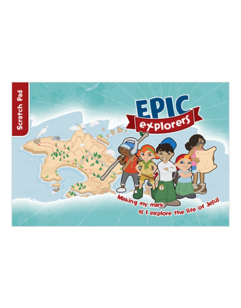 CEMinistries Epic Explorers Scratch Pad