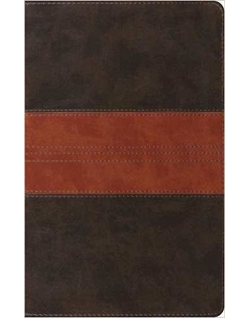 Crossway ESV Bible Thinline Trutone Leather  Forest / Tan