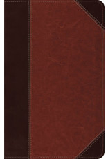 Crossway ESV Bible Thinline Trutone Leather Brown/Cordovan