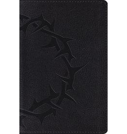 Crossway ESV Compact Bible, Charcoal Crown Design