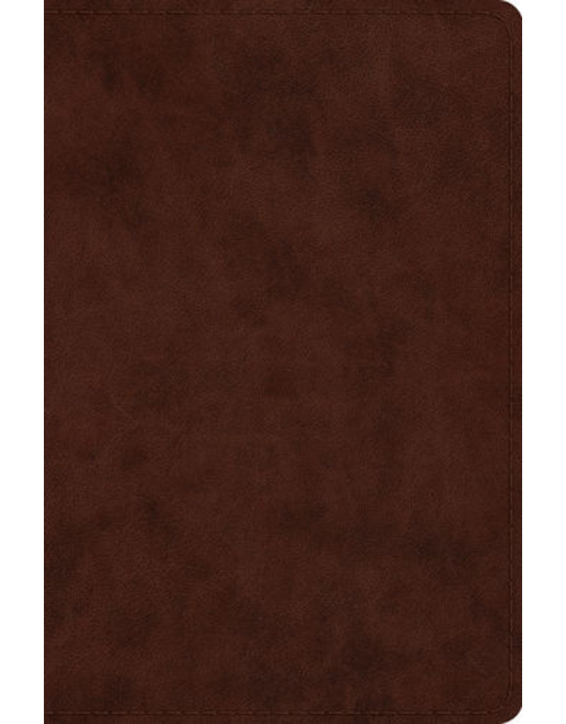 Crossway ESV Compact Bible, Trutone Brown