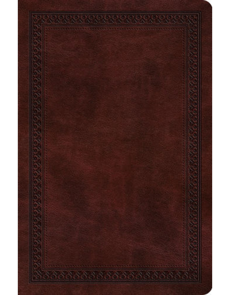 ESV Compact Outreach Bible, Mahogany