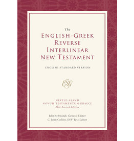 ESV English-Greek Reverse Interlinear  N T