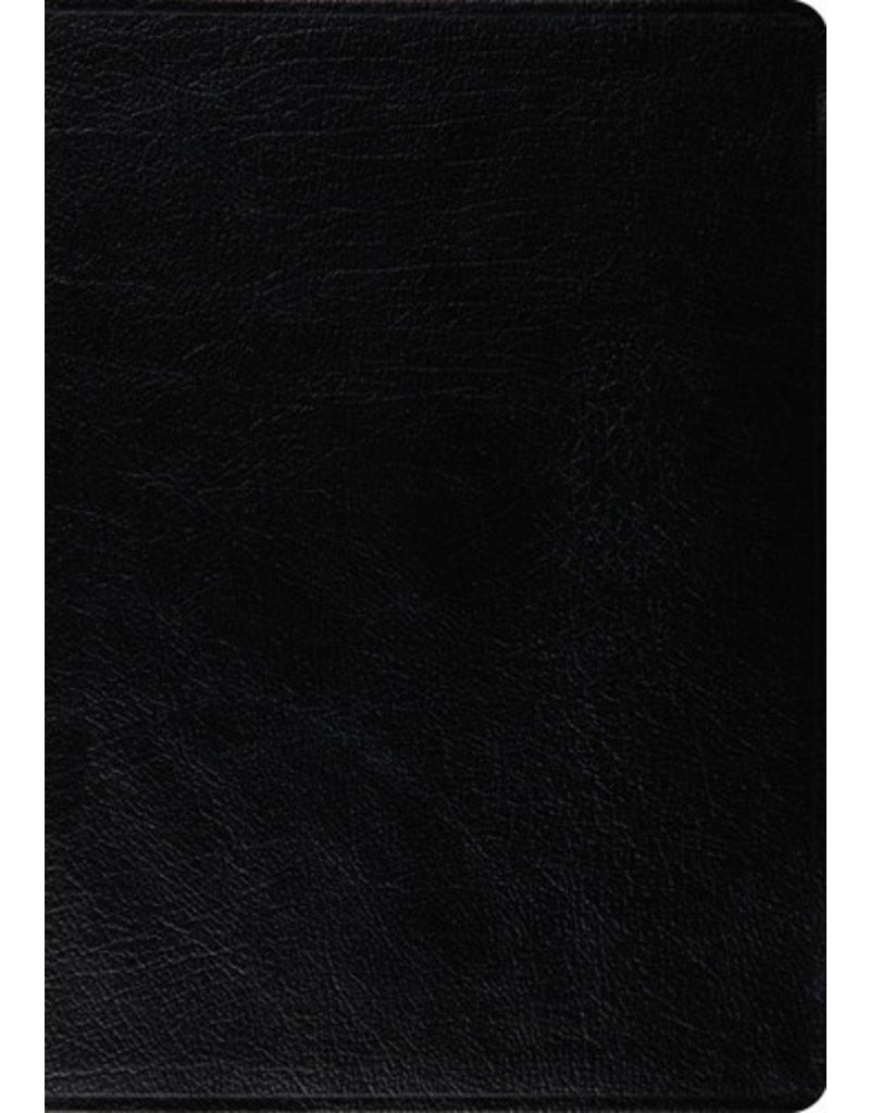 MacArthur ESV MacArthur Study Bible Large Print Leather Black