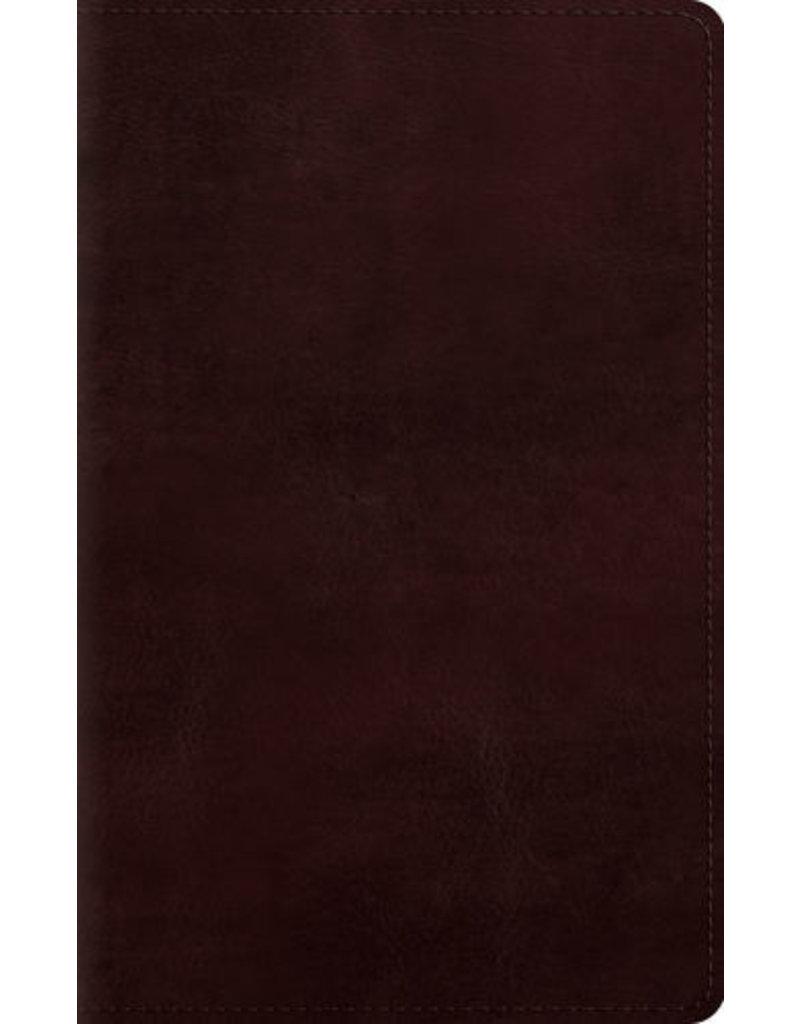 Crossway ESV Personal Bible, Large Print Mahogany