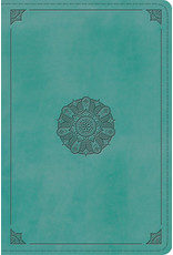 ESV Study Bible, Personal Turquoise
