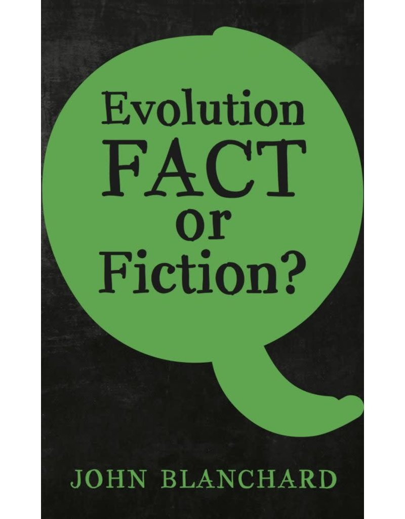 Blanchard Evolution Fact or Fiction?