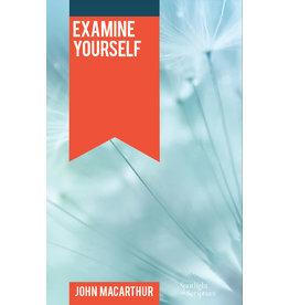 MacArthur Examine Youself