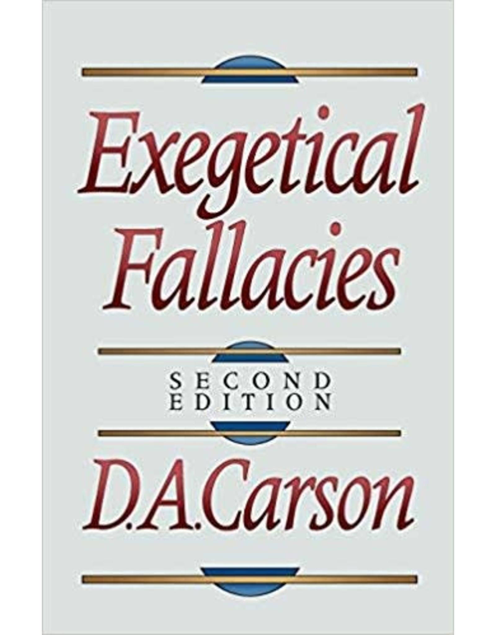 Carson Exegetical Fallacies