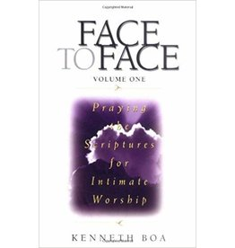 Boa Face to Face : Vol 1 Praying the Scriptures for Intimate Worship