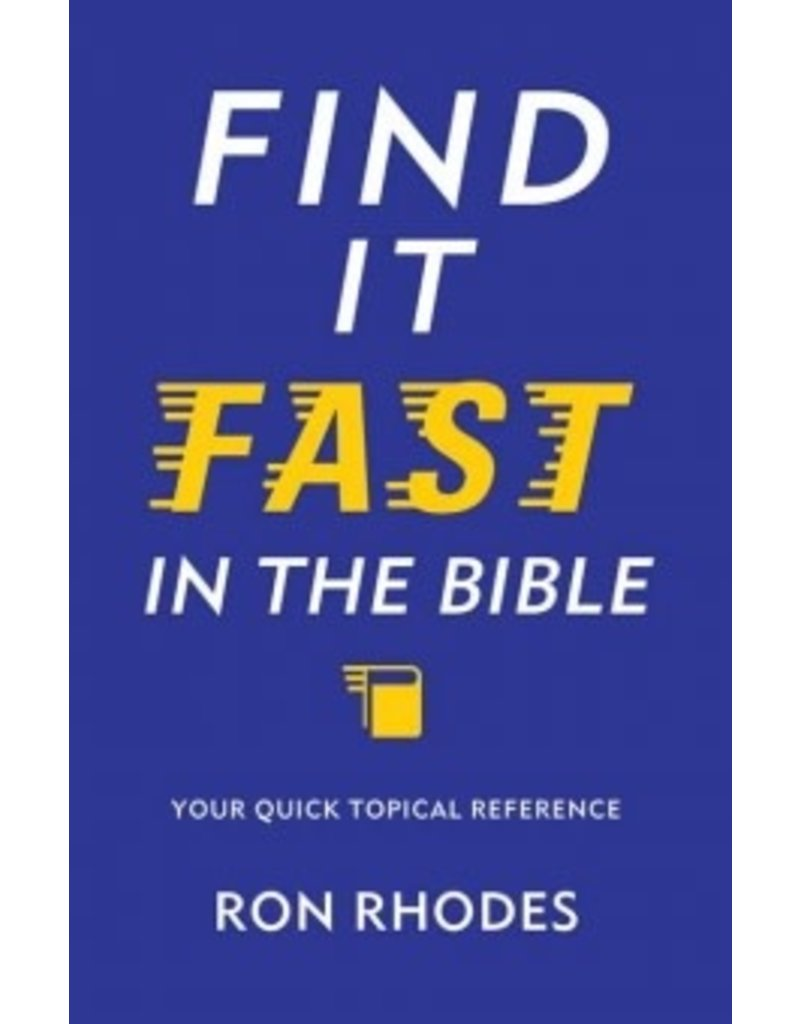 Rhodes Find It Fast in the Bible