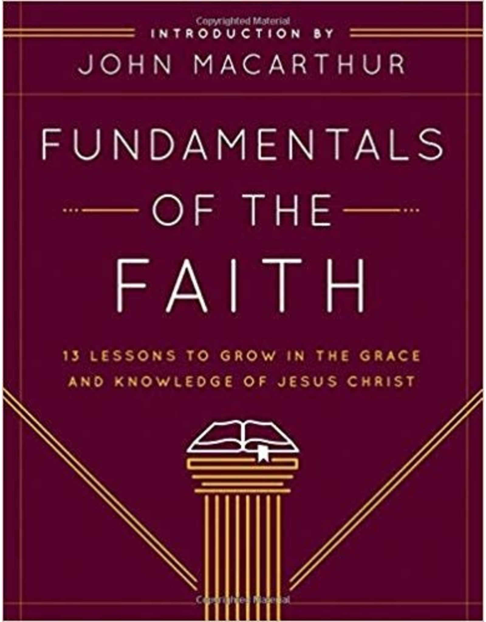 Grace Church Fundamentals of the Faith - Workbook
