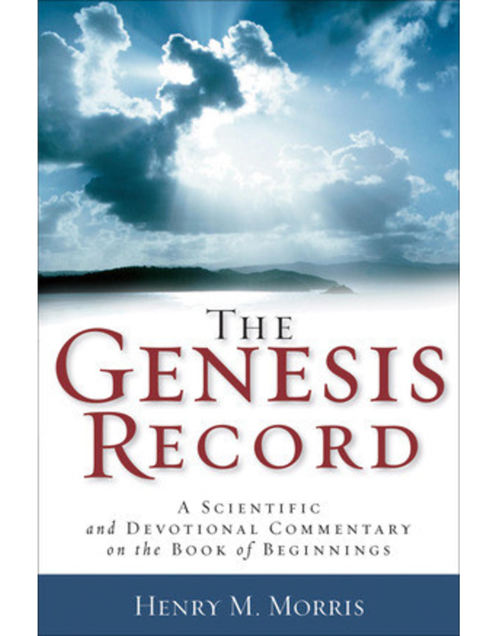 Morris The Genesis Record