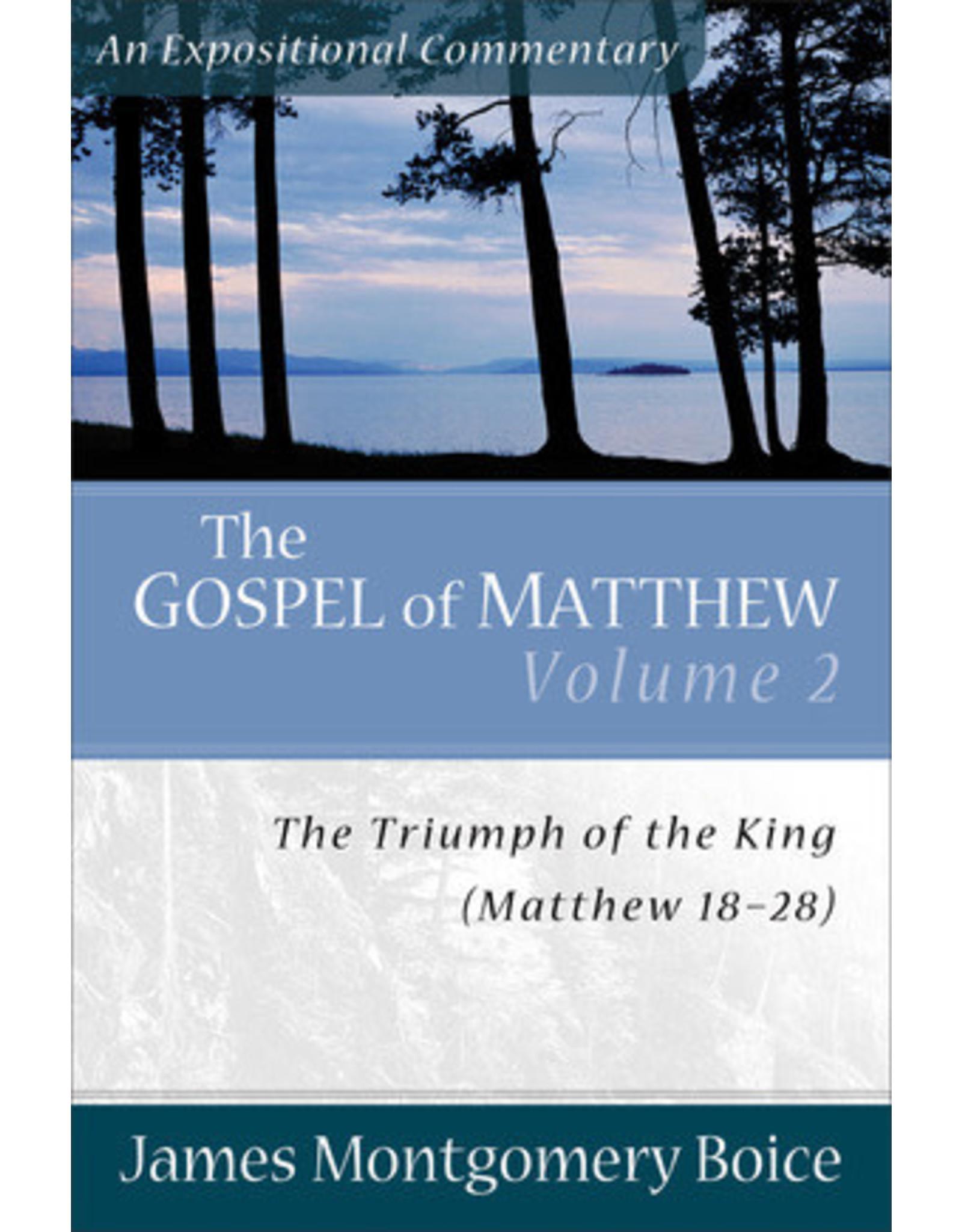 Boice The Gospel of Matthew 18-28: Vol 2; An Expositional Commentary