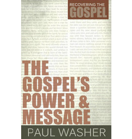 Washer The Gospel's Power and Message