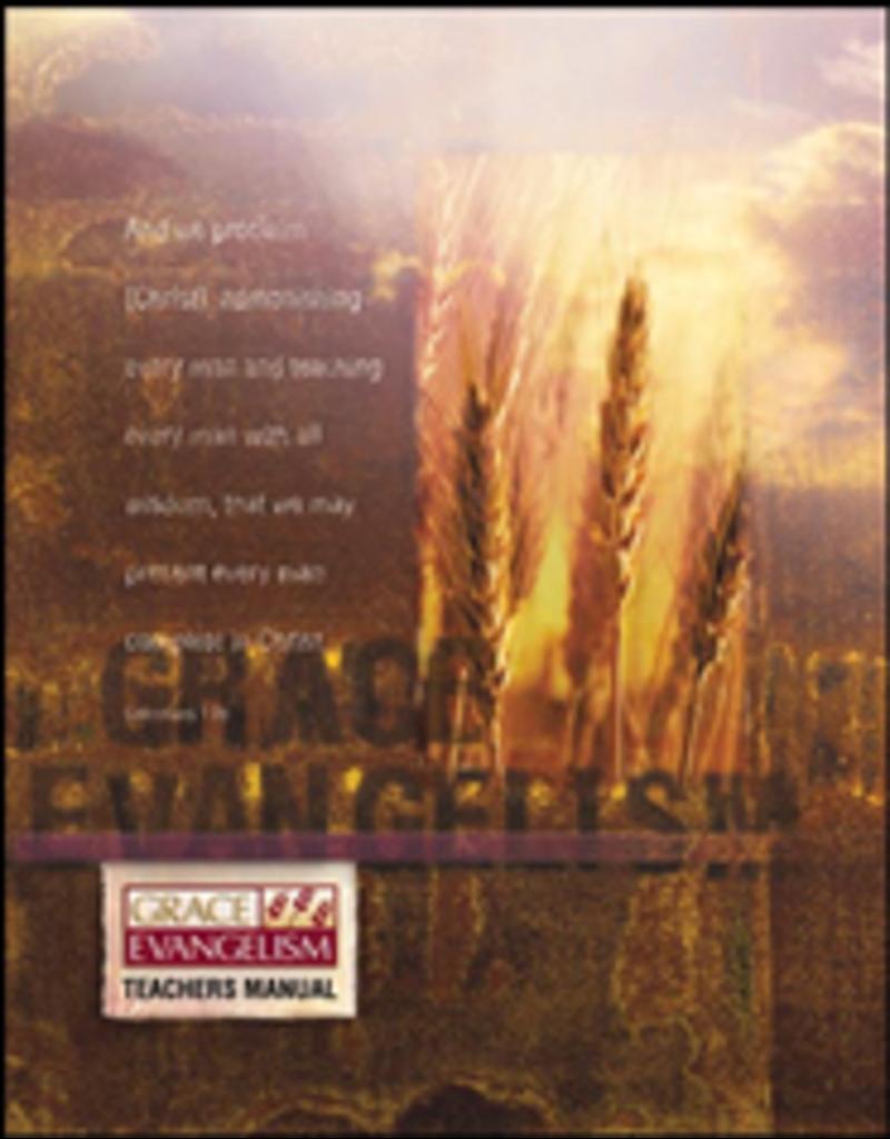 Grace Evangelism - Teacher Workbook