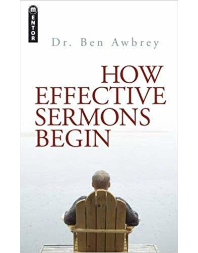 Awbrey How Effective Sermons Begin