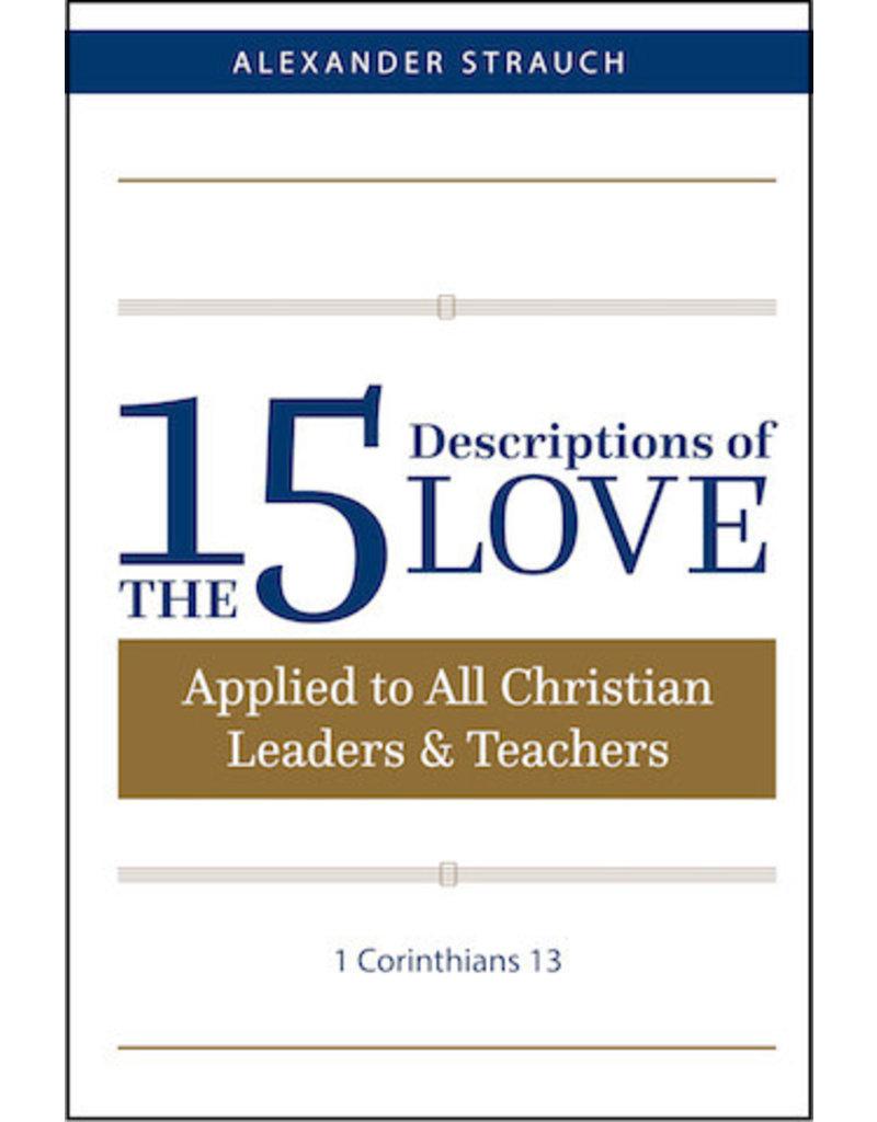 Strauch 15 Descriptions of Love