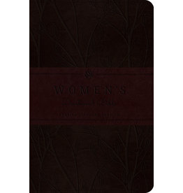Crossway ESV Woman's Devotional Trutone Burgundy