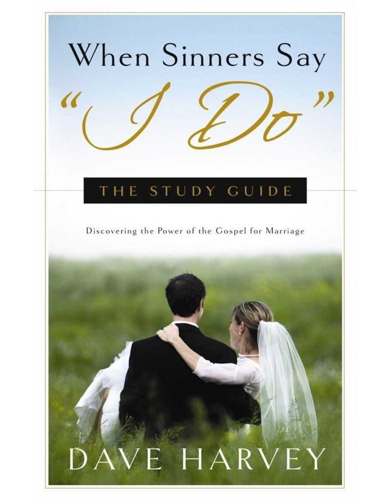 """Harvey When Sinners Say """"I Do"""" Study Guide"""
