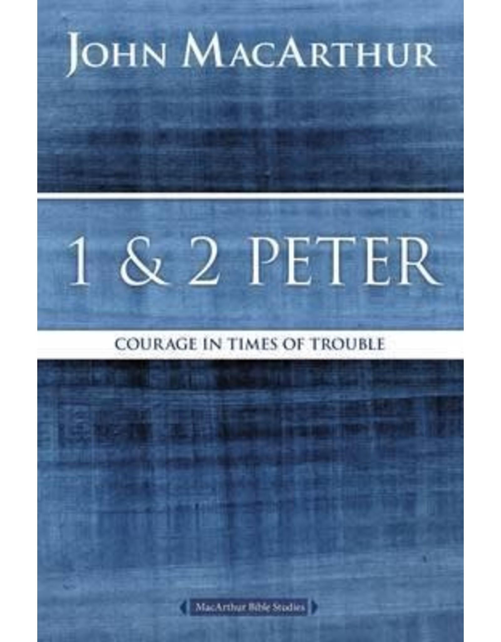 MacArthur MacArthur Bible Study  1 and 2 Peter