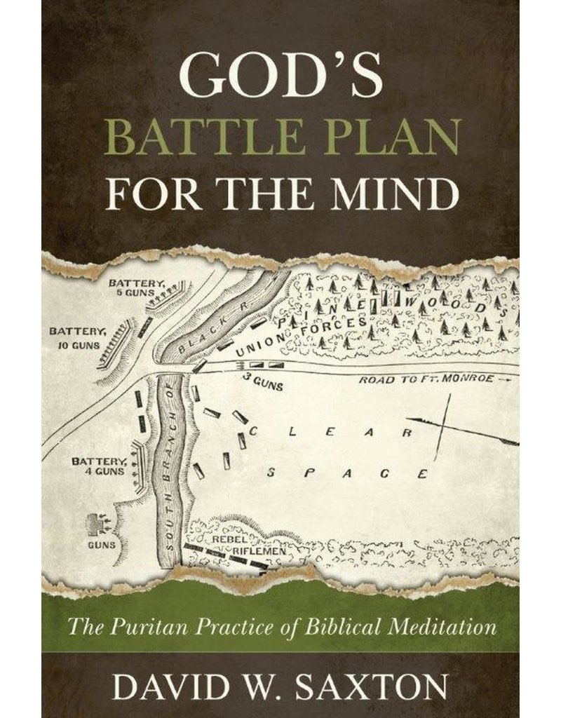 Saxton God's Battle Plan For The Mind
