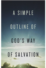 Crossway A Simple Outline of Gods Way of Salvation - 25 pack