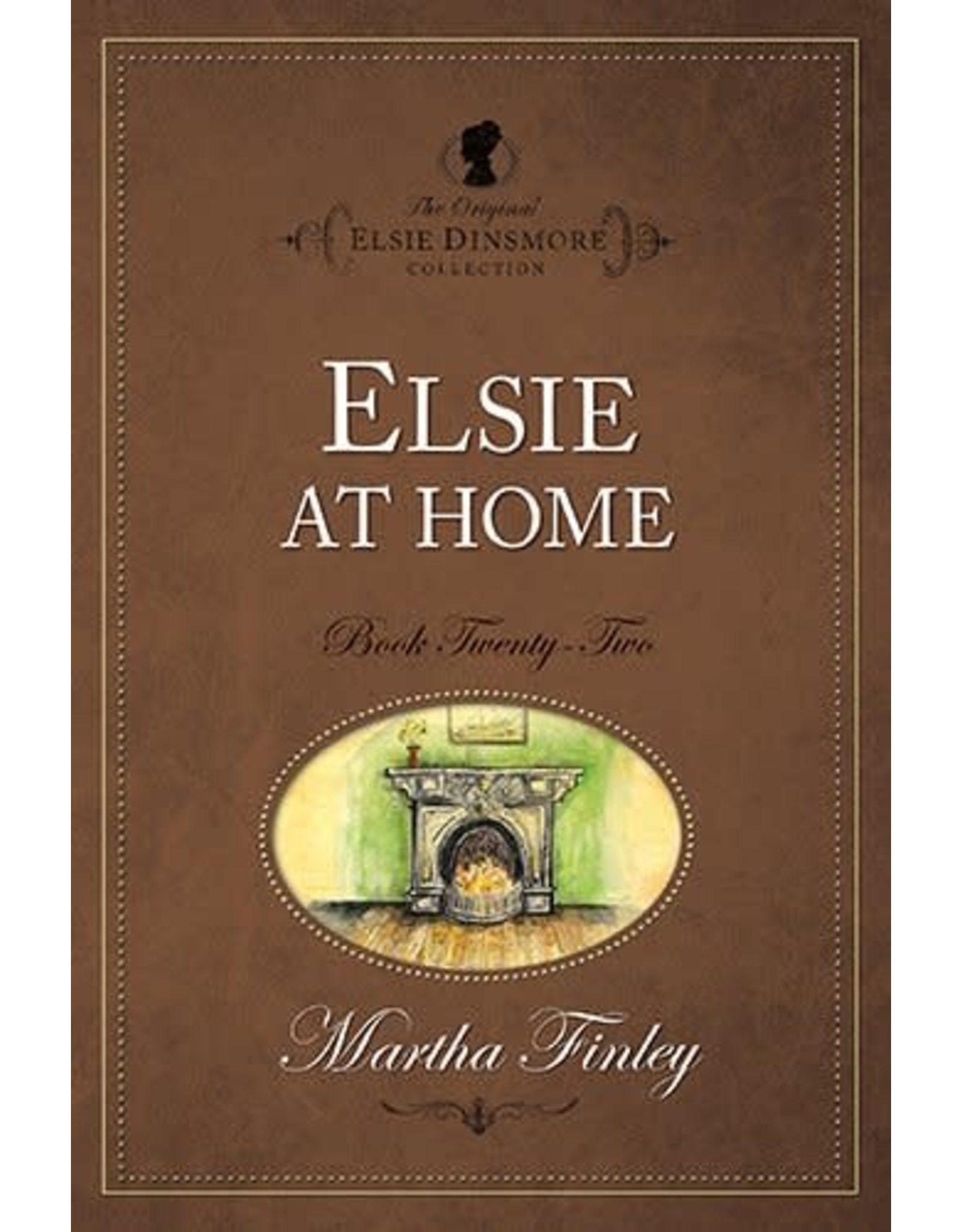Martha Finley Elsie at Home - Book 22