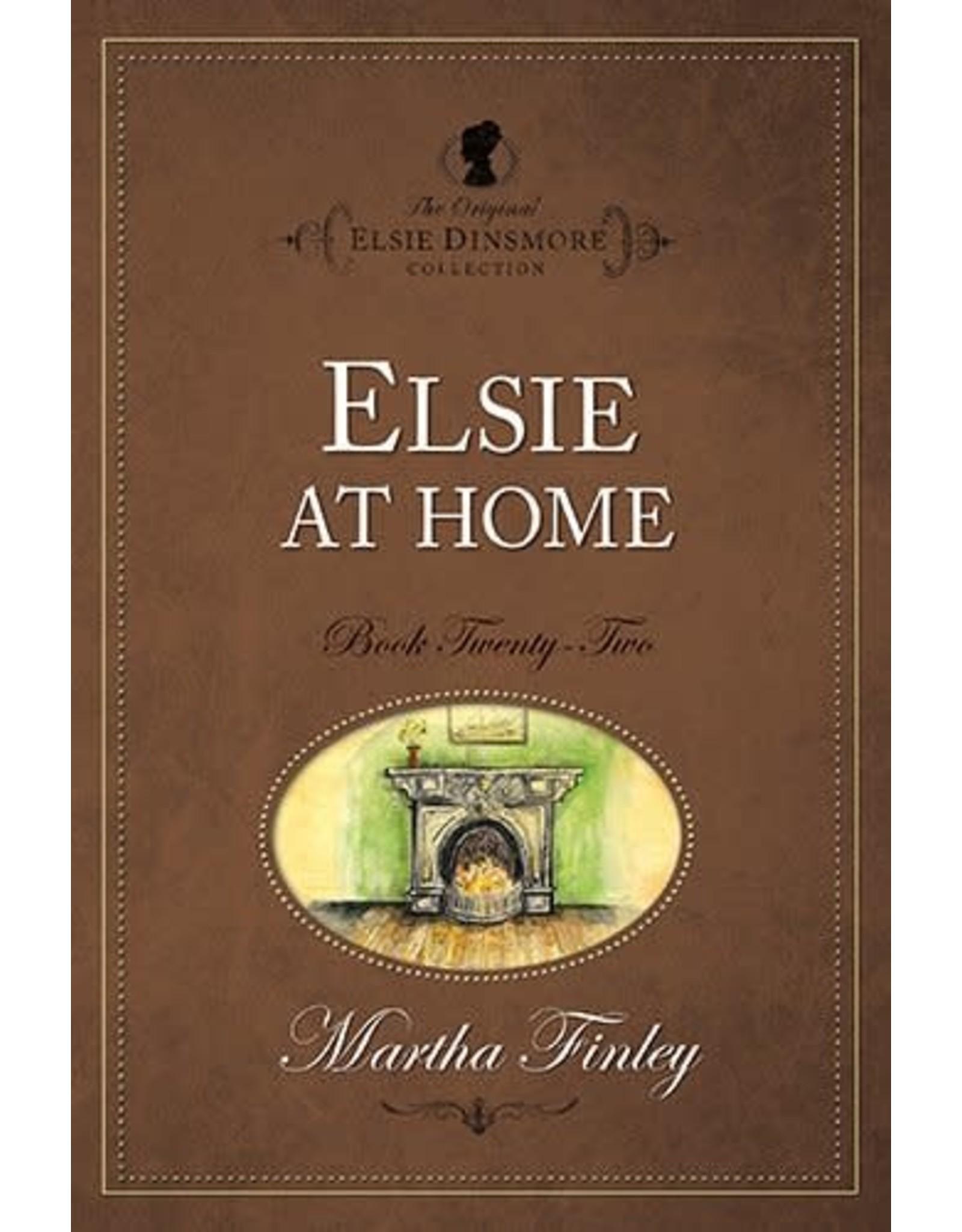 Martha Finley Elsie at Home