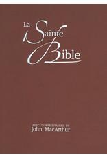 John MacArthur La Sainte Bible, Avec Commentaries de John MacArthur