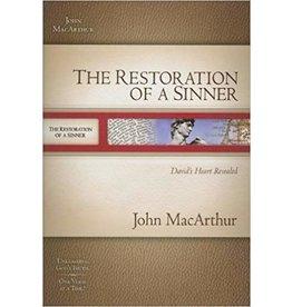 MacArthur The Restoration of a Sinner