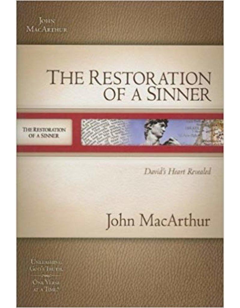 MacArthur Restoration of a Sinner, The