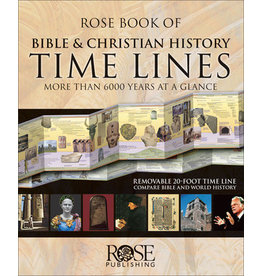 Rose Publishers Roses Book of Bible & Christian History Timelines