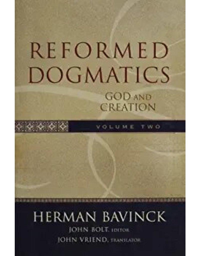 Bavinck Reformed Dogmatics, Vol 2 - God and Creation