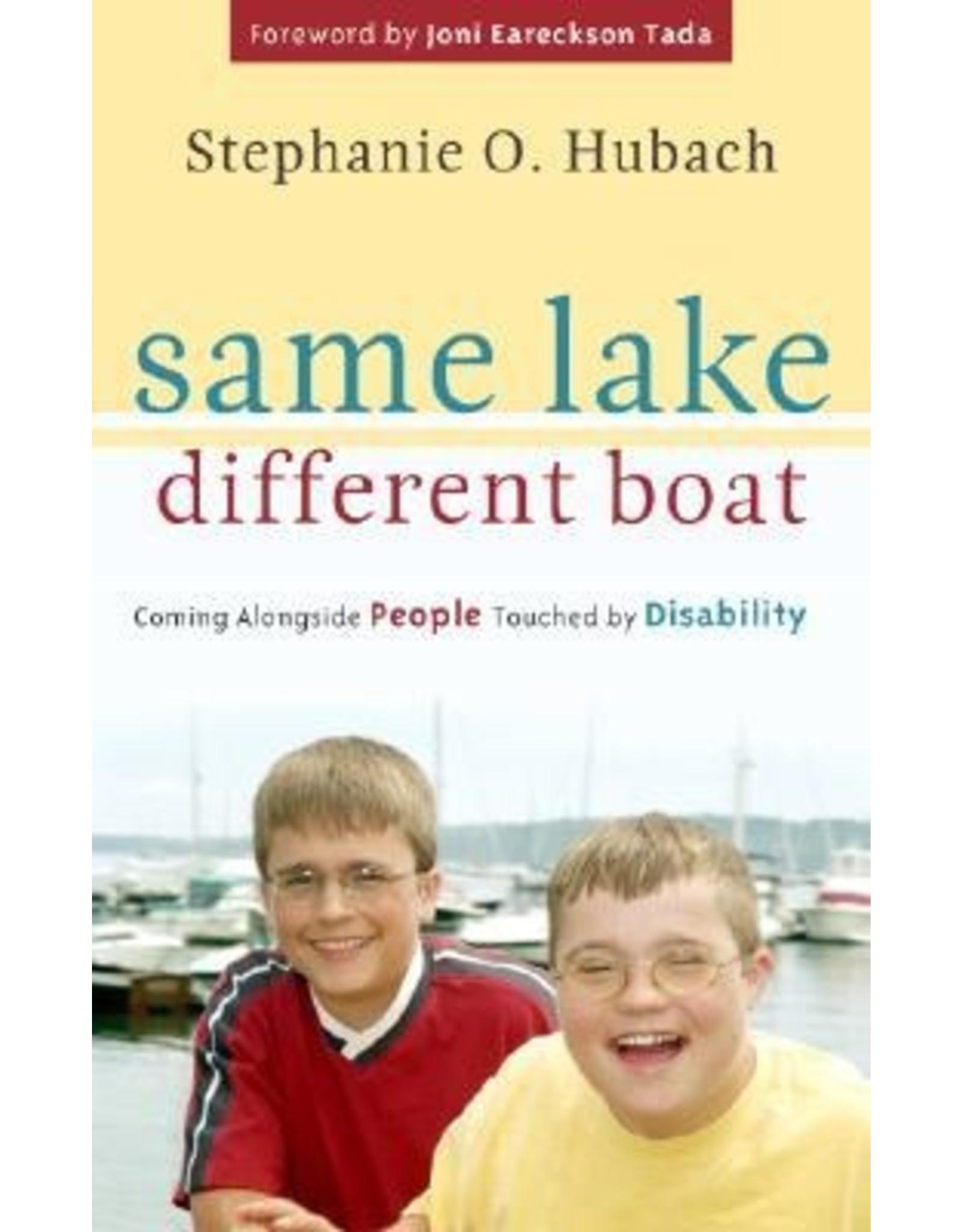 Hubach Same Lake Different Boat