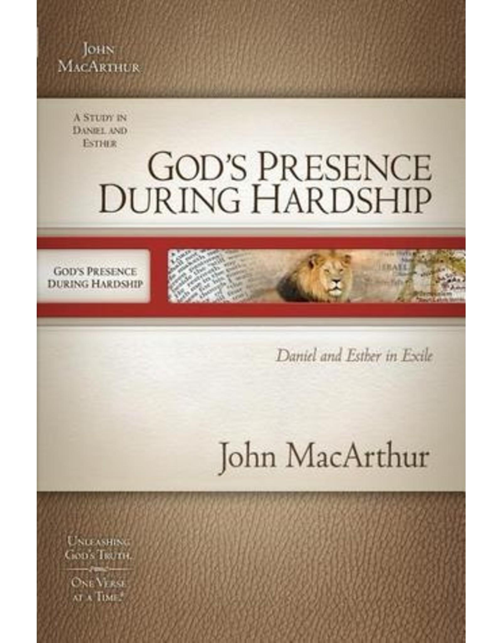 MacArthur MacArthur Bible Study God's Presence During Hardship