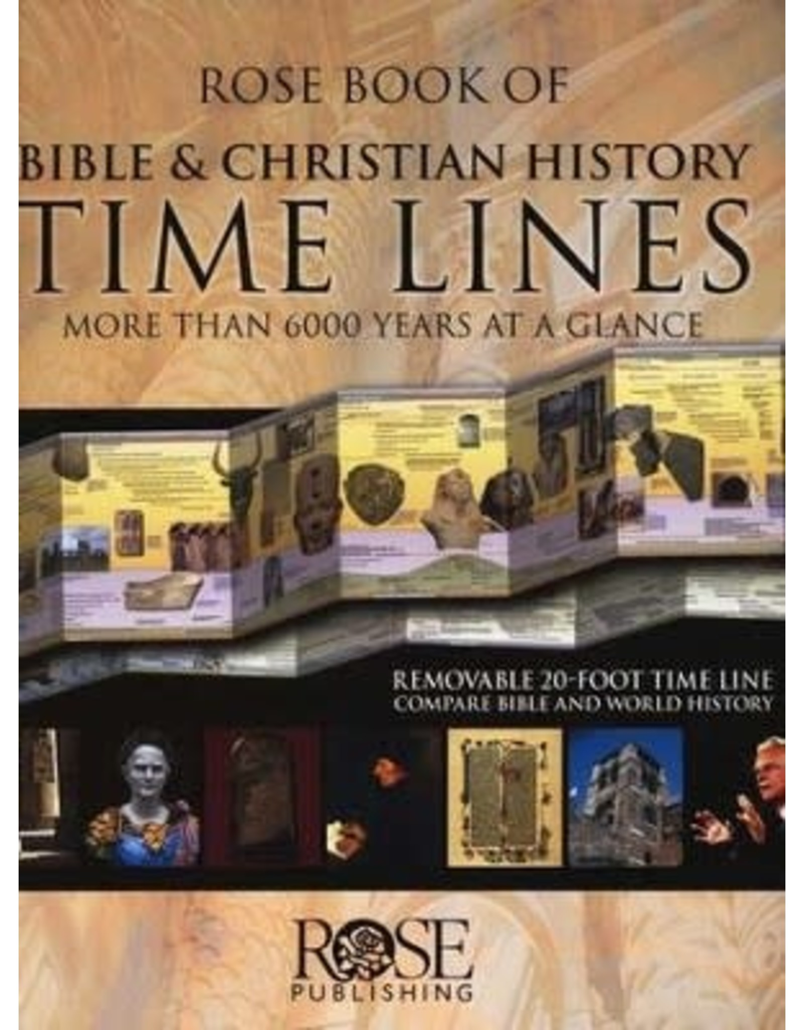 Rose Publishers Roses Book of Bible and Christian History Timelines