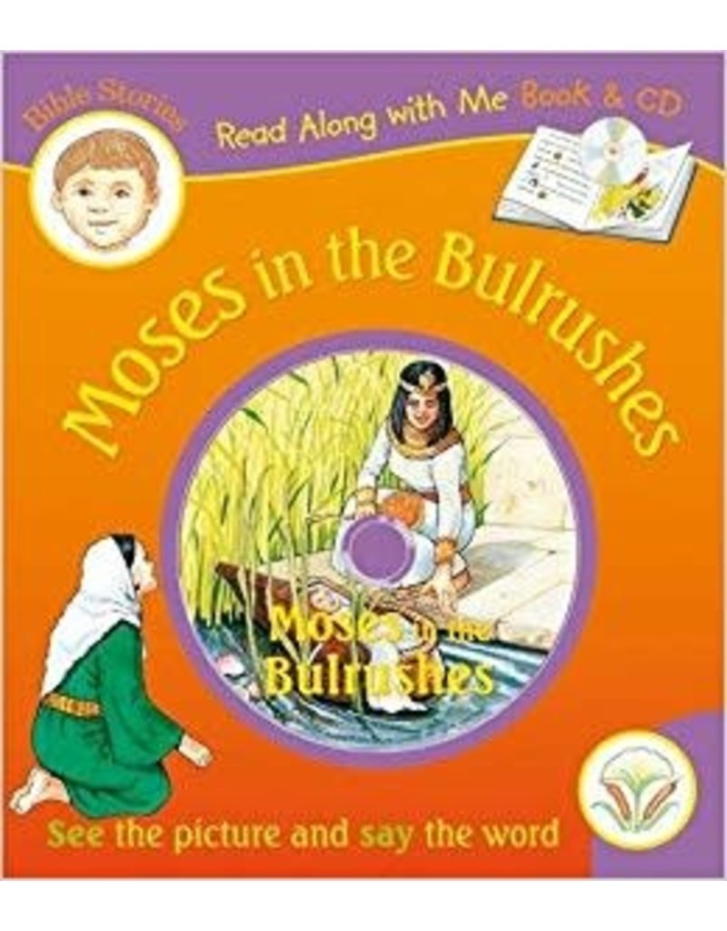 Read Along With Me - Moses in the Bulrushes plus CD