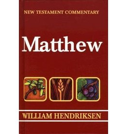 William Hendriksen New Testament Commentary Matthew