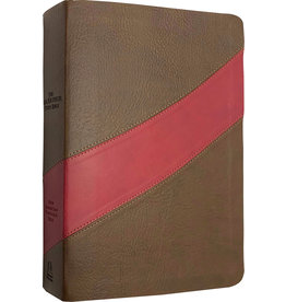 MacArthur NASB MacArthur Study Bible Leathersoft Cranberry/Brown