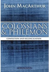 MacArthur Colossians and Philemon: Completion and Reconciliation in Christ (John MacArthur bible study)